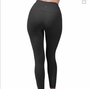 90 degree black leggings